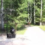 Санаторий Хилово территория скульптура