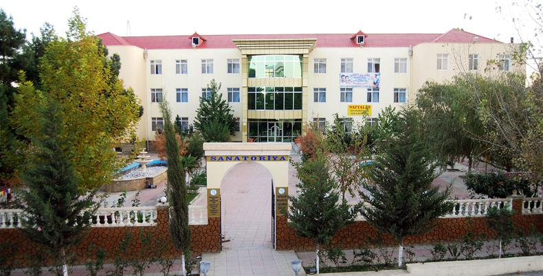 Санатории специализирующиеся на лечении псориаза в Нафталане