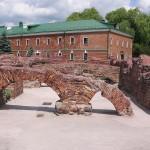 Руины Белого дворца Брестская крепость