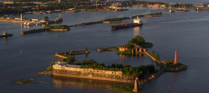 Кронштадт с морской прогулкой по фортам