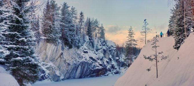 Зимняя Карелия: Приозерск, Сортавала, Рускеала, питомник хаски
