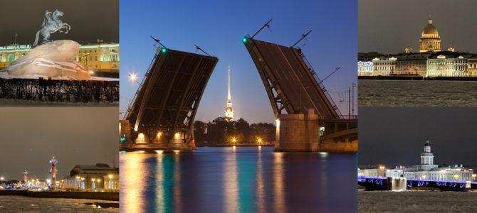 Тур Санкт-Петербург — вечерние огни столицы Имперской России